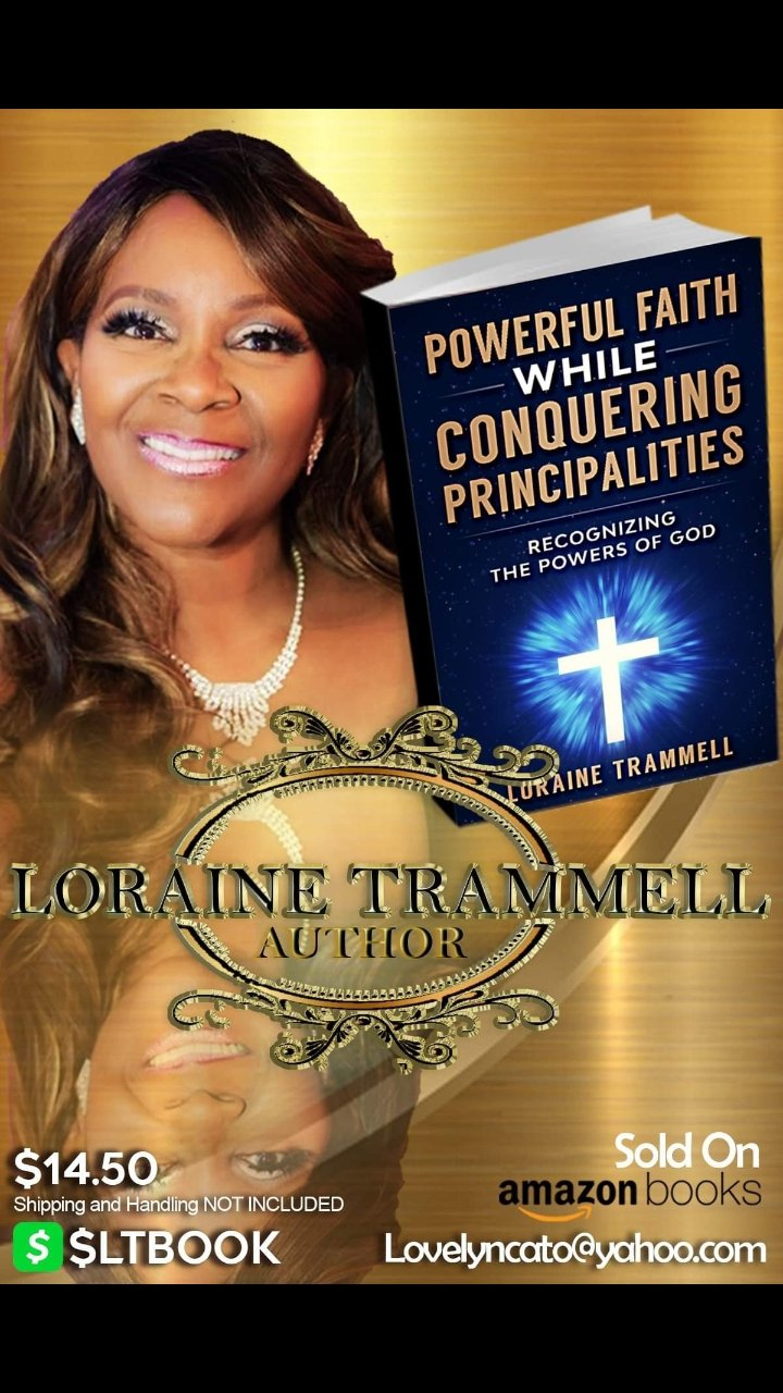 Author Spotlight: Loraine Trammell 3x author of Inspirational & Empowering books for the masses!